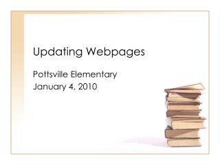 Updating Webpages