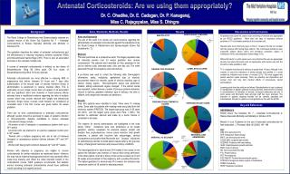 Antenatal  Corticosteroids: Are we using them appropriately?