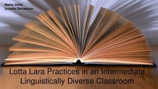 Lotta  Lara Practices in an Intermediate Linguistically  Diverse Classroom