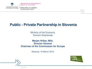 Public - Private Partnership in Slovenia