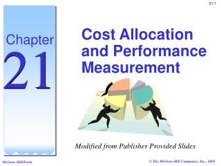 Cost Allocation and Performance Measurement