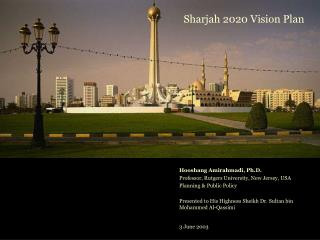 Sharjah 2020 Vision Plan