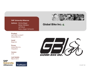Global Bike Inc.