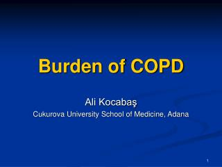 Burden of COPD