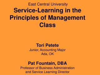 MGMT 3013  Principles of Management