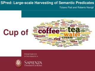 SPred : Large-scale Harvesting of Semantic Predicates