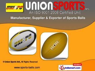 Hand Balls & Net Balls