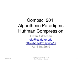 Huffman code and ID3
