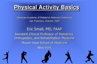 Physical Activity Basics