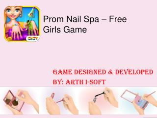 Prom Nail Spa - Girls Game