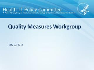 Quality Measures Workgroup