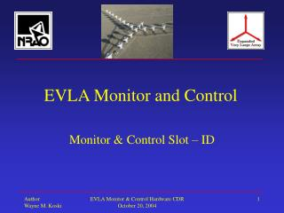 EVLA Monitor and Control
