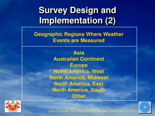 Survey Design and Implementation (2)
