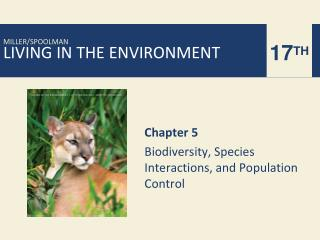 Chapter 5 Biodiversity, Species Interactions, and Population Control