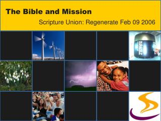 The Bible and Mission