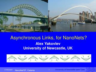 Asynchronous Links, for NanoNets?