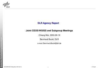 DLR Agency Report