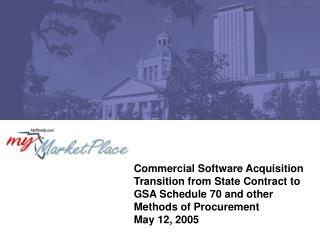 Commercial Software Acquisition