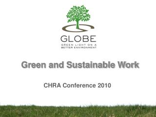 Green and Sustainable Work
