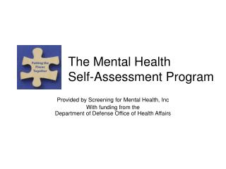 The Mental Health Self-Assessment Program