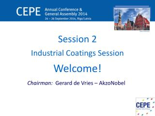 Session 2 Industrial Coatings Session