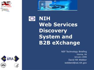 NIH  Web Services Discovery System and B2B eXchange