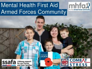 Mental Health First Aid Armed Forces Community