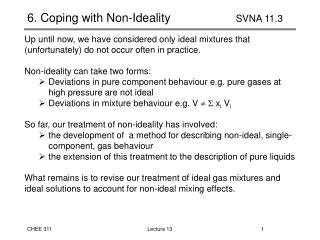 6. Coping with Non-Ideality		      SVNA 11.3