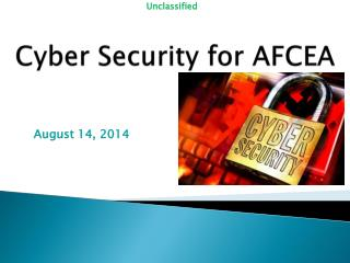 Cyber Security for AFCEA