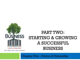 Chapter Five – Forms of Ownership