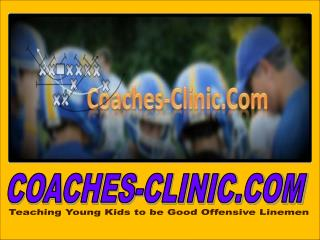 Teaching Young Kids to be Good Offensive Linemen