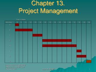 Chapter 13. Project Management