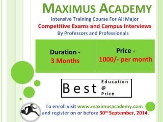 M aximus Academy