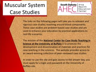 Muscular System Case Studies
