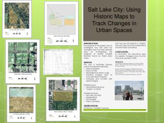 Salt Lake  City: Using Historic Maps to Track Changes in Urban Spaces