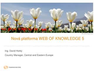 N ová platforma WEB OF KNOWLEDGE 5