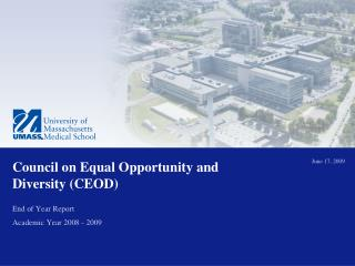 Council on Equal Opportunity and Diversity (CEOD)