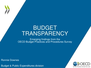Macroeconomic policy in the OECD: an overview