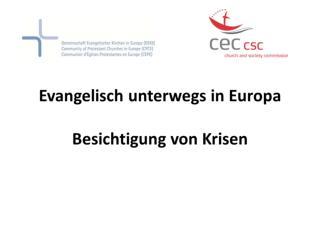 GEKE in CSC/CEC in Brüssel