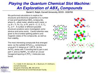 Playing the Quantum Chemical Slot Machine: An Exploration of ABX 2  Compounds