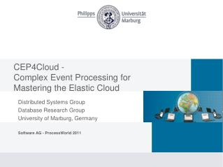 CEP4Cloud - Complex Event Processing for  Mastering the Elastic Cloud