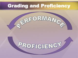 Grading and Proficiency