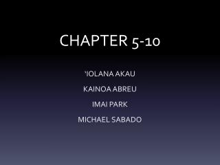 CHAPTER 5-10