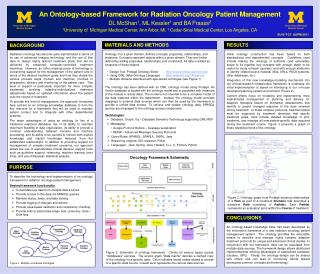 An  Ontology-based Framework  for  Radiation Oncology Patient Management
