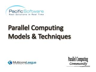 Parallel Computing Models & Techniques