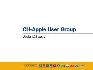 CH-Apple User Group