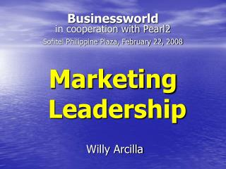 Marketing Leadership