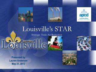 Louisville's STAR Strategic Toxic Air Reduction