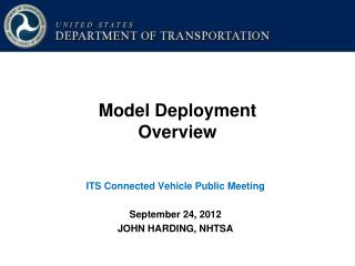 Model Deployment Overview