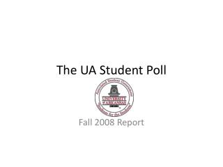 The UA Student Poll